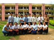 The teachers in training shortly before their graduation from the program